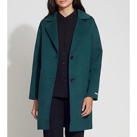 Bernardo Mid-Length Double Face Coat