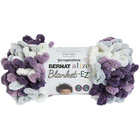Bernat Alize Blanket-EZ Yarn - Thistle