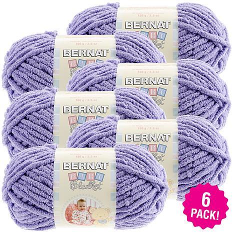 Bernat Baby Blanket Yarn 6-pack - Lilac