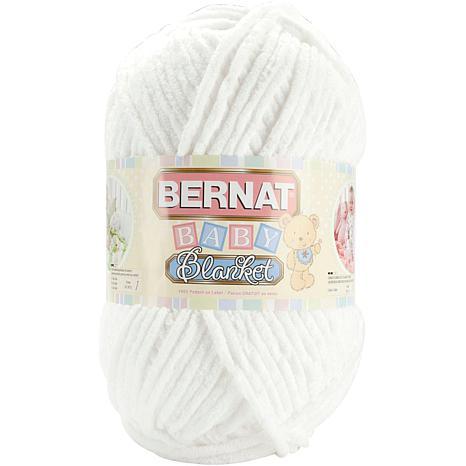 Bernat Baby Blanket Yarn - White