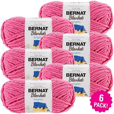 Bernat Blanket Brights Yarn 6-pack - Pixie Pink