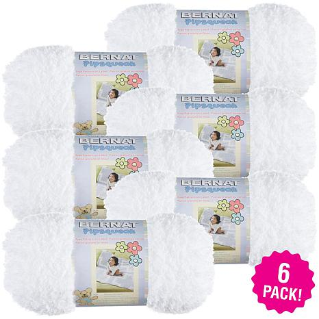 Bernat Pipsqueak Yarn 6-pack - Whitey White