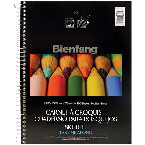 Bienfang Spiral Sketch Book - 100 Sheets