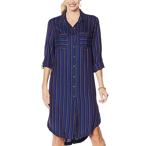 Billy T Lightweight Shirt Style Dress