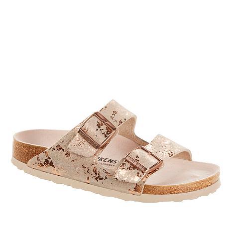 Birkenstock Arizona Vintage Metallic Leather Sandal