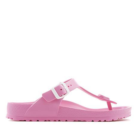 9a07aee7a Birkenstock Gizeh Essentials EVA Thong Sandal - Fashion Colors - 8741763 |  HSN