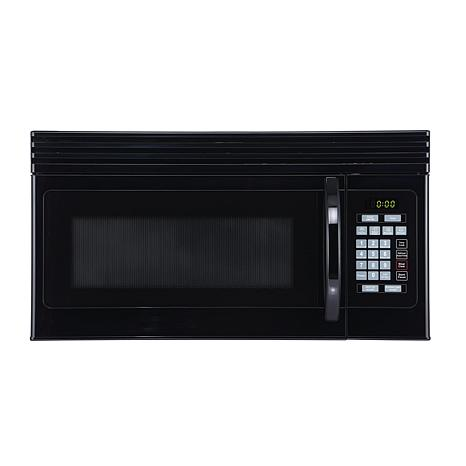 Black+Decker 1.6-Cu.Ft. Over-Range Microwave with Top Mount Air Vent