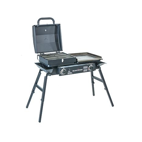 Blackstone Tailgater Gas Grill Griddle Combo