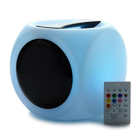 Bluetooth Music Cube Speaker with Remote Control
