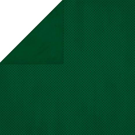 Bo Bunny Double Dot Double-Sided Cardstock - Evergreen