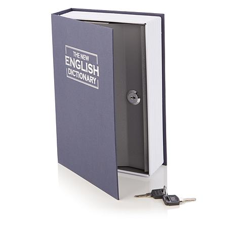 Book Safe Metal Box for Valuables