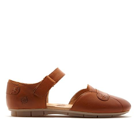 Born® Bees Leather Ankle Strap Flat