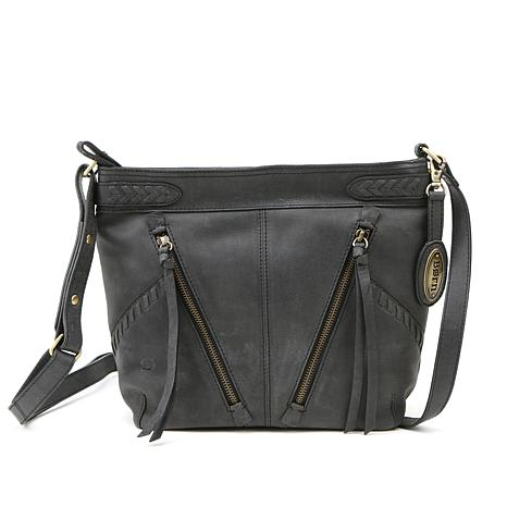 Born® Distressed Leather Crossbody