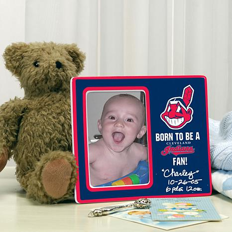 Born to be a Cleveland Indians Fan Photo Frame