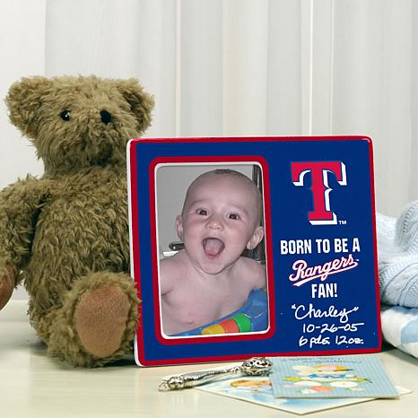 Born to be a Texas Rangers Fan Photo Frame