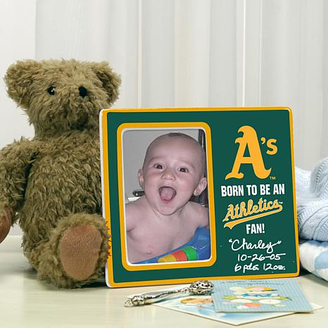 Born to be an Oakland Athletics Fan Photo Frame