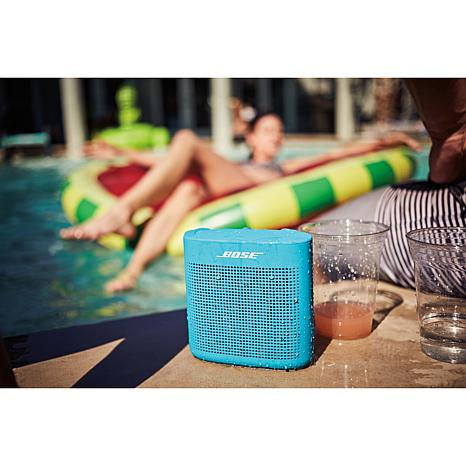 Bose Soundlink Color Ii Water Resistant Bluetooth Speaker 8250041 Hsn