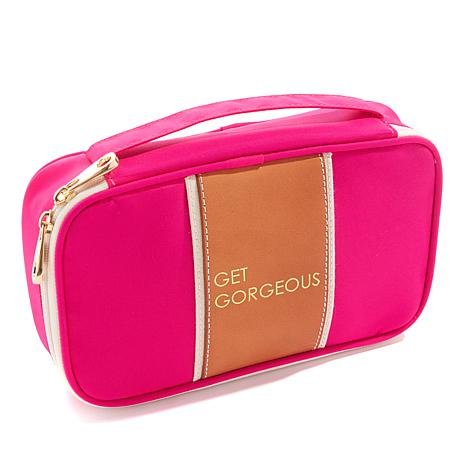 "Boulevard ""Megan"" Pink Get Gorgeous Travel Case"