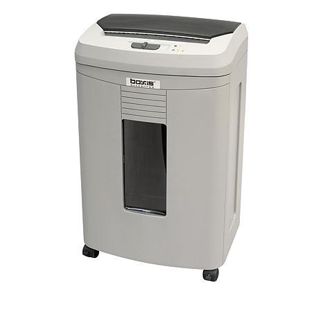 Boxis 10 Sheet Microcut Paper Shredder with 100 Sheet Autofeed