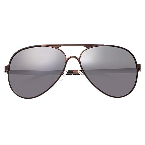Breed Genesis Polarized Sunglasses with Brown Frames and Lenses