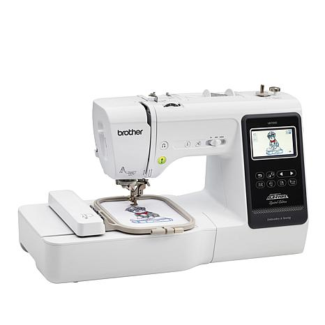 Brother Embroidery And Sewing Machine With Value Bundle 40 HSN Delectable Brother 550 Sewing Machine