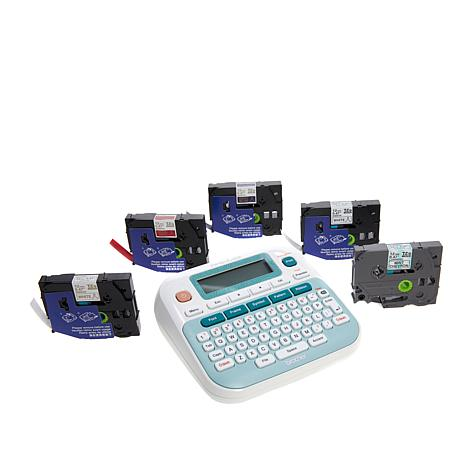 Brother P-touch Embellish Ribbon and Tape Printer Bundle