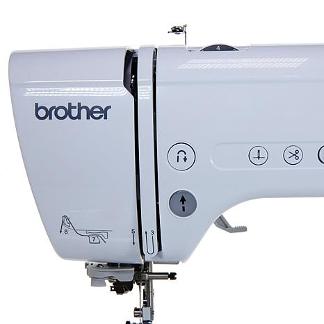 Brother Project Runway Embroidery And Sewing Machine 40 HSN Impressive Brother Project Runway Sewing And Embroidery Machine
