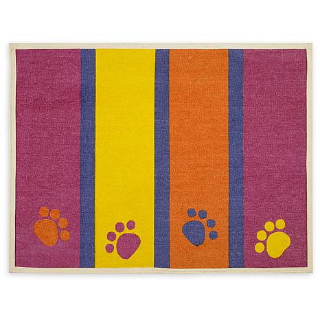 Buddy's Fashion Forward Cotton Dog Bowl Mat