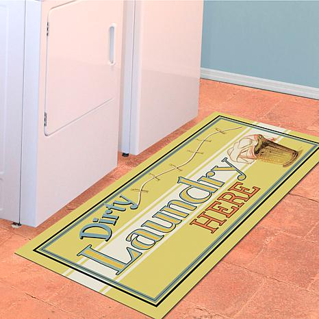 "Bungalow ""Dirty Laundry"" Runner Mat"