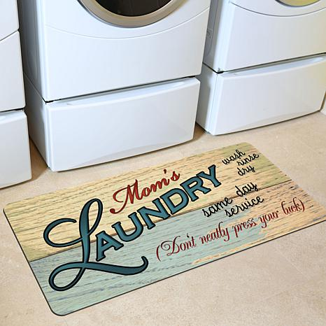 Bungalow Quot Mom S Laundry Quot Floor Mat 8211399 Hsn