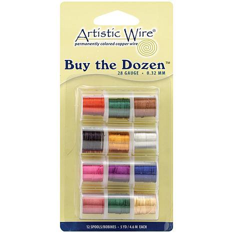 Buy The Dozen Colored Copper Wire - 28 Gauge