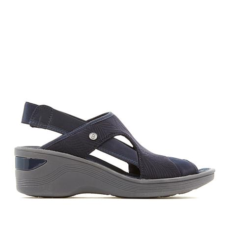 Bzees Dashing Slingback Wedge Sandal