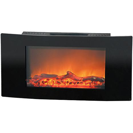 Callisto Wall-Mount Electronic Fireplace