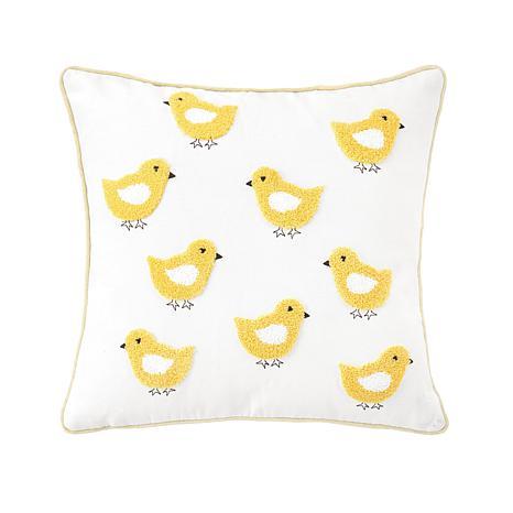 C&F Home Cute Chicks Pillow