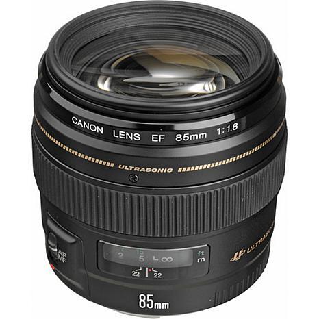 Canon EF 85mm F1.8 Ultrasonic Motor AF Lens