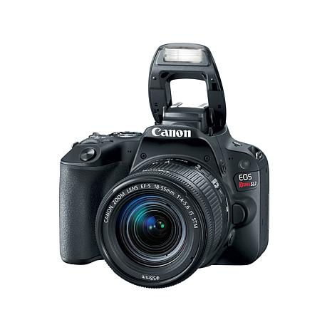 Canon EOS Rebel SL2 24.2MP Digital SLR Camera with EF-S 18-55mm Lens
