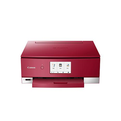 Canon PIXMA TS8220 AIO Printer - Red