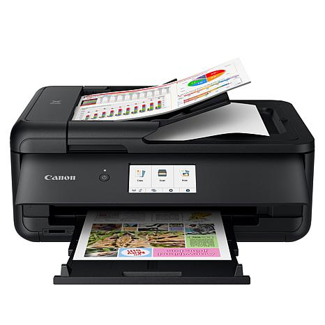 Canon PIXMA TS9521C Crafting All-In-One Printer Bundle with Software
