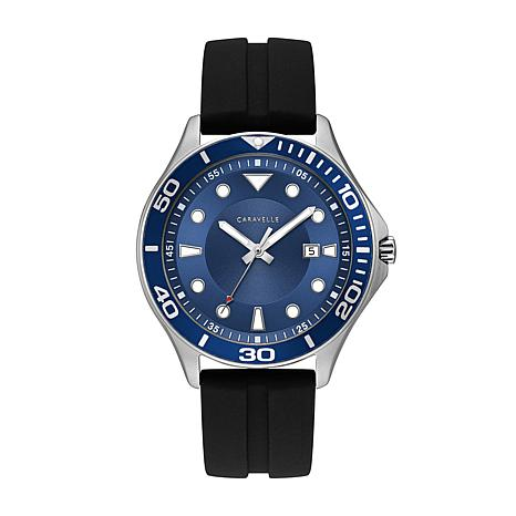 Caravelle Men's Blue Dial Sport Watch