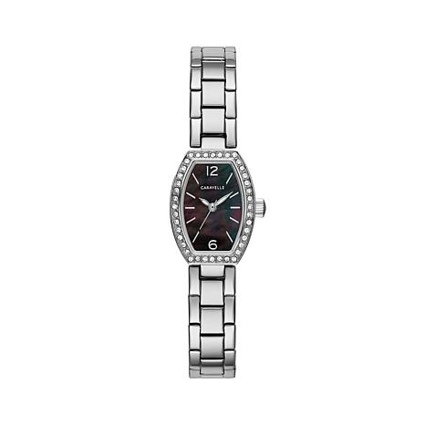 Caravelle Stainless Octagonal Watch