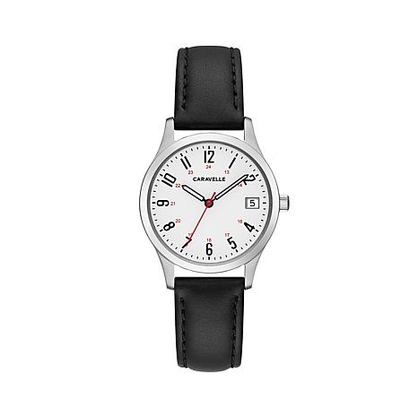 Caravelle  White Dial Watch