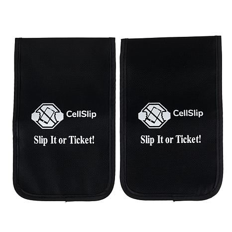 CellSlip 2pk Phone-Blocking Pouch for Less Distractions