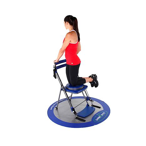 ... Chair Gym Exercise System with Twister Seat and DVDs ...  sc 1 st  HSN.com & Chair Gym Exercise System with Twister Seat and Workout DVDs ... islam-shia.org