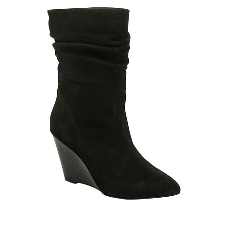 Charles by Charles David Empire Suede Slouchy Mid-Calf Boot