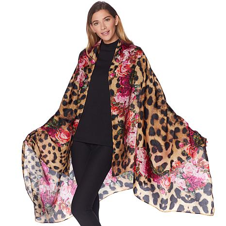 Clever Carriage Exotic Garden Silk Scarf