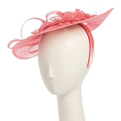 Collection 18 Straw Fascinator Slide