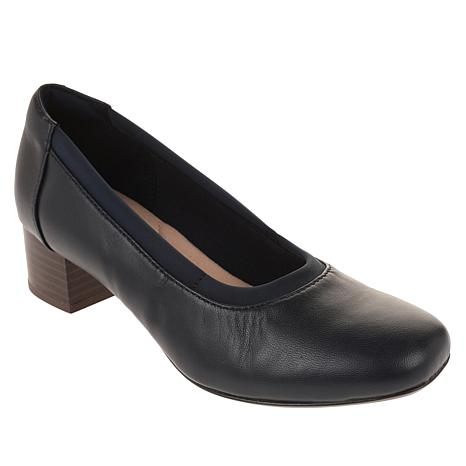 Collection by Clarks Chartli Fame Leather Pump