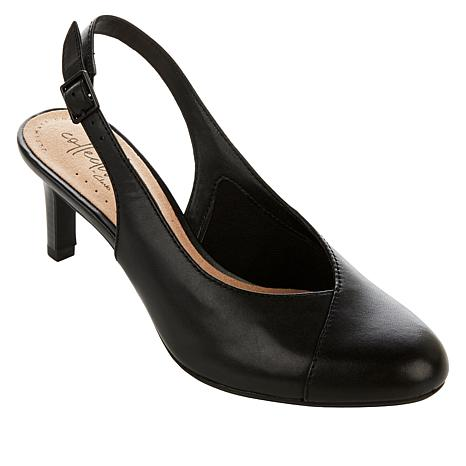 Leather Collection Slingback Dancer Mix Pump By Clarks R5jL34A