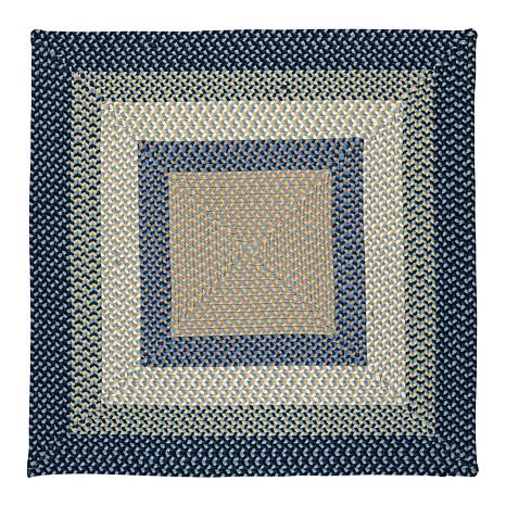 Colonial Mills Montego 8' Square Rug - Blue Burst