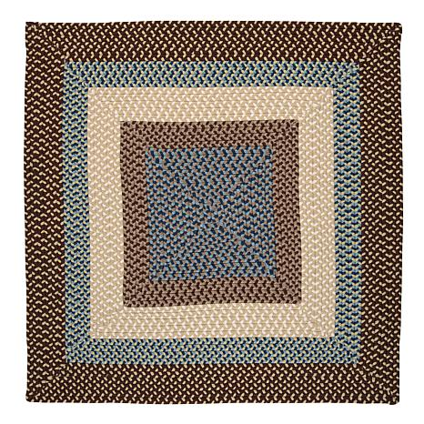 Colonial Mills Montego 8' Square Rug - Bright Brown